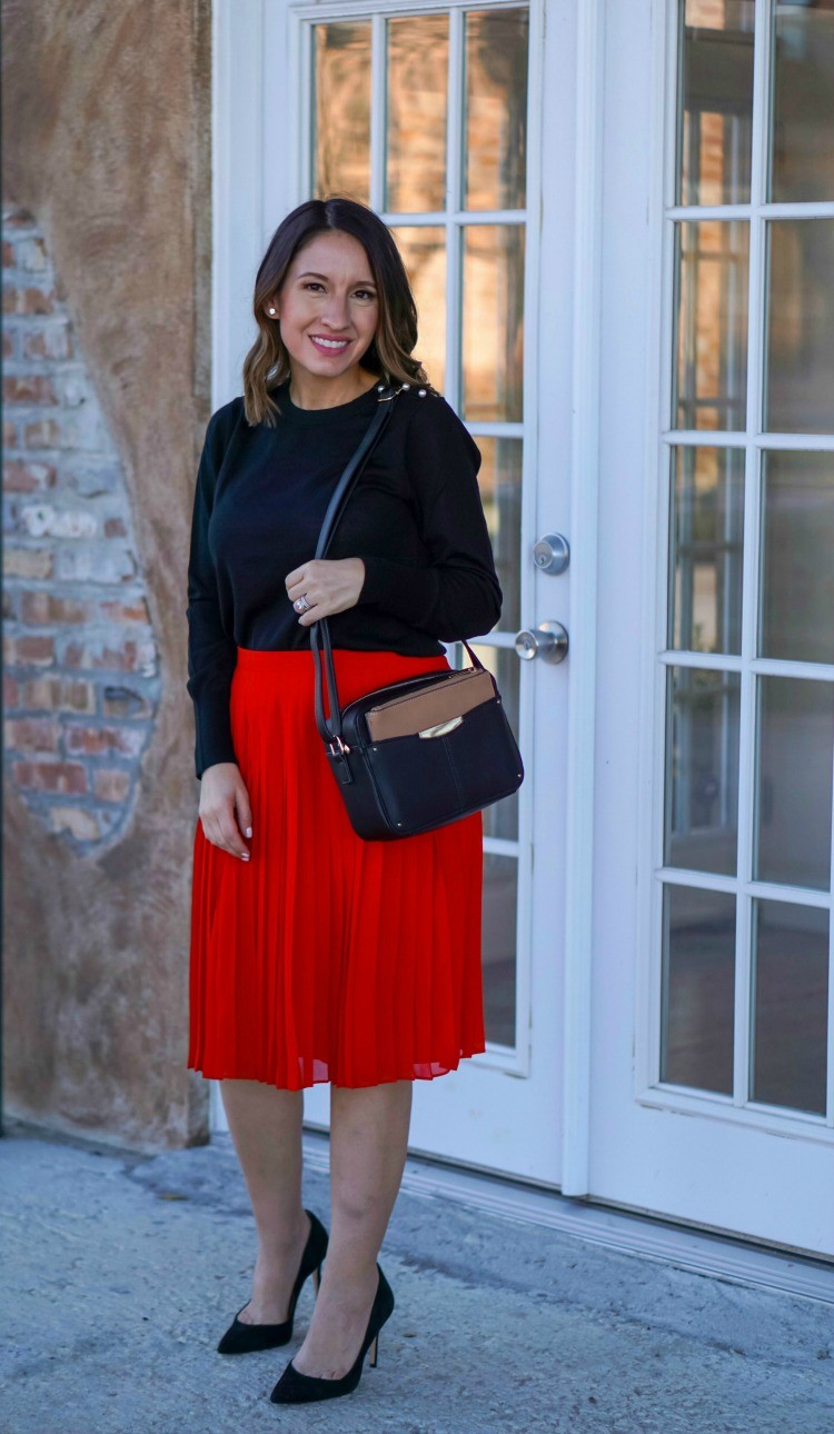 Cute Workwear Outfit with Ann Taylor