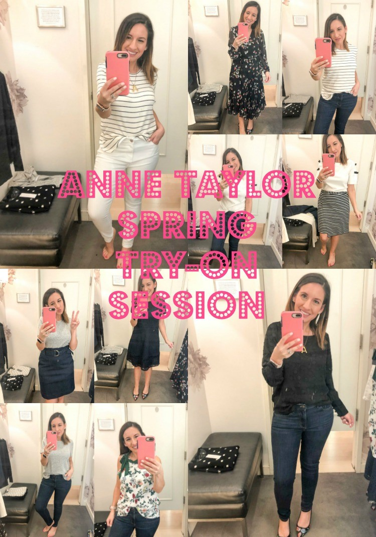 Ann Taylor Spring Try -On Session Roundup