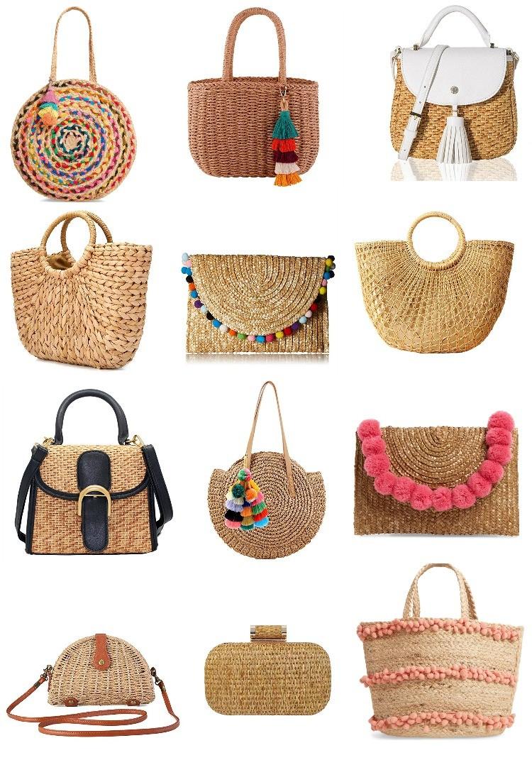Cute Spring Woven Handbags