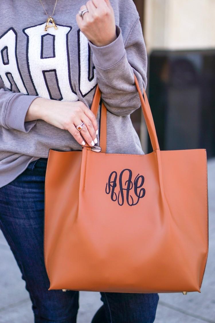 Monogrammed MarleyLilly Handbag