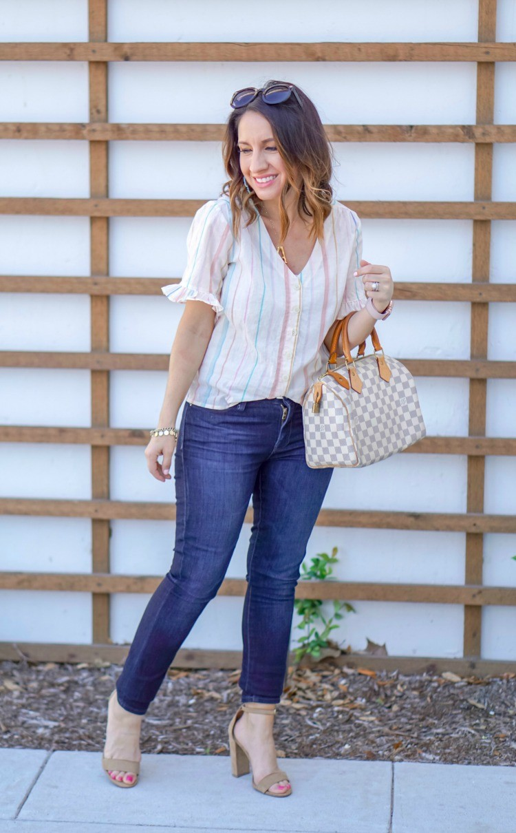 Cute Madewell Stripe top