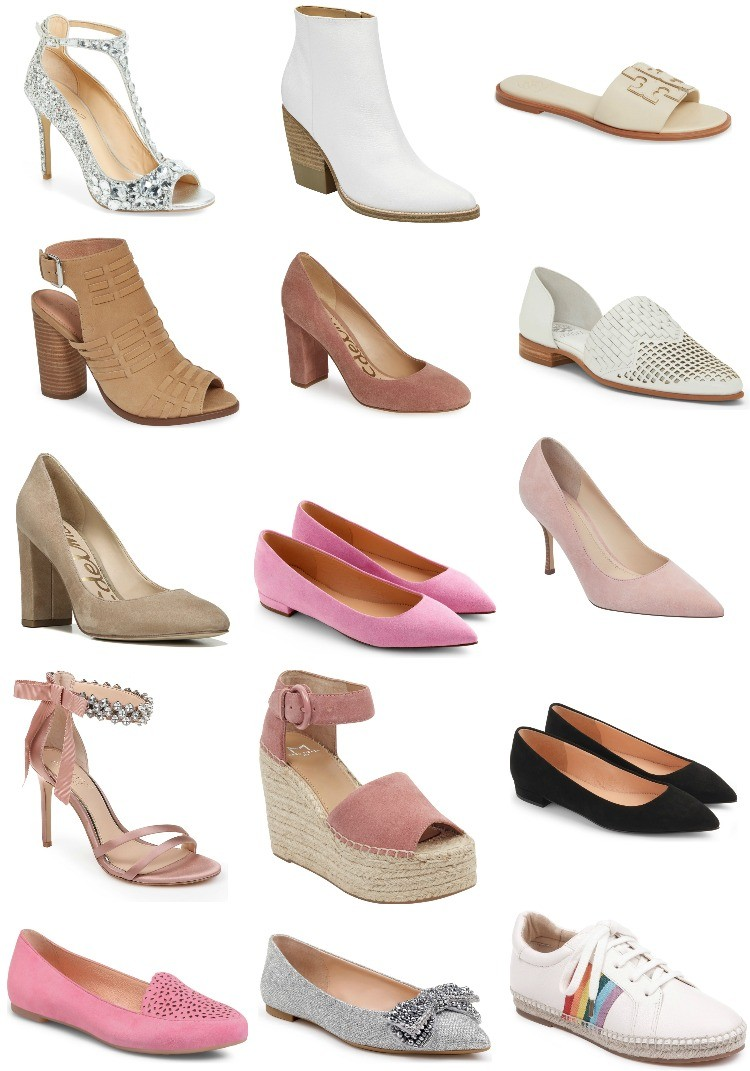 The Prettiest neutral Shoes on sale
