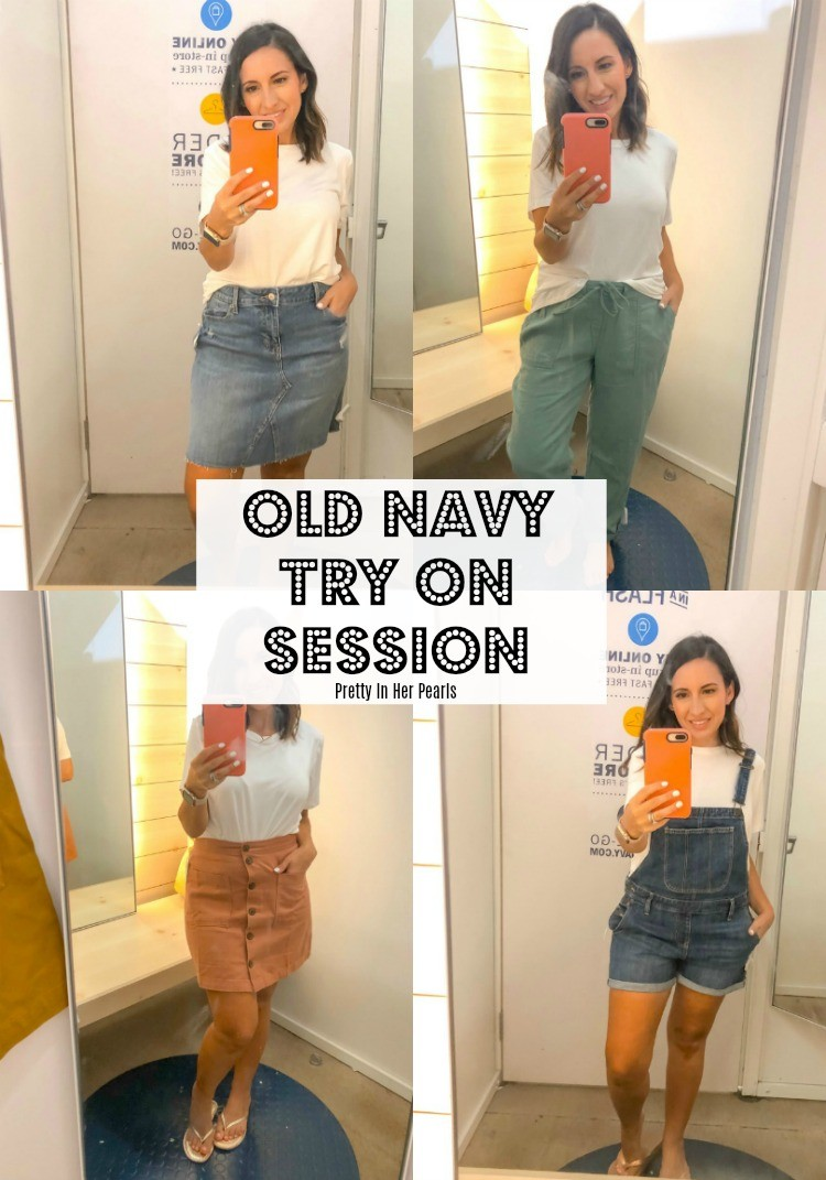 Old Navy Summer Try On