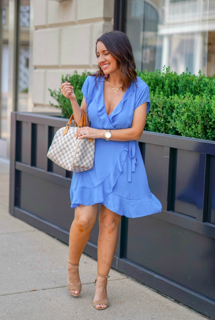 Sunday Best Savoy Wrap Dress