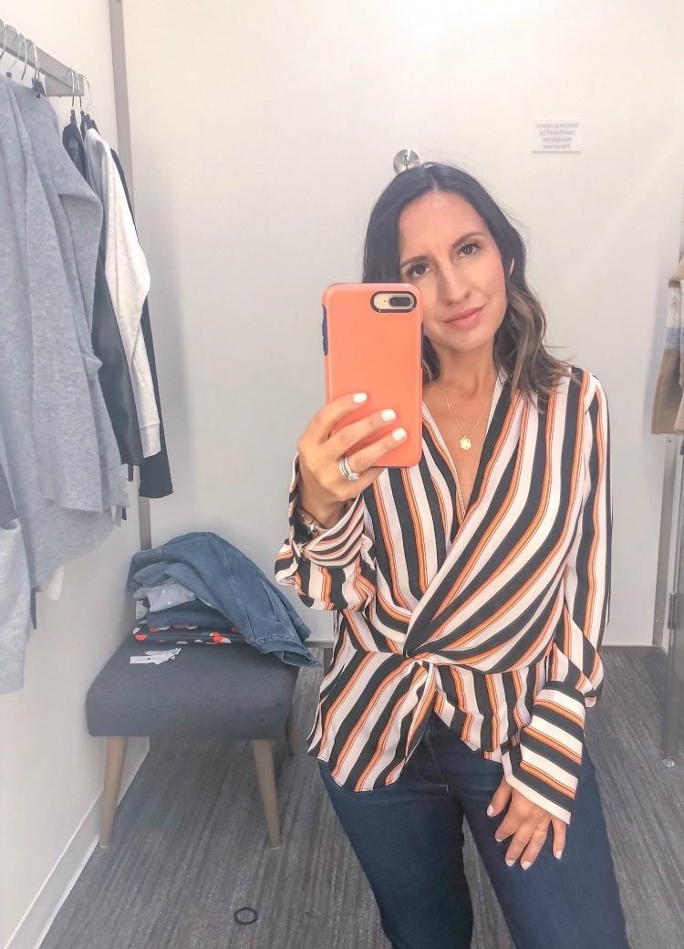Cute Stripe blouse