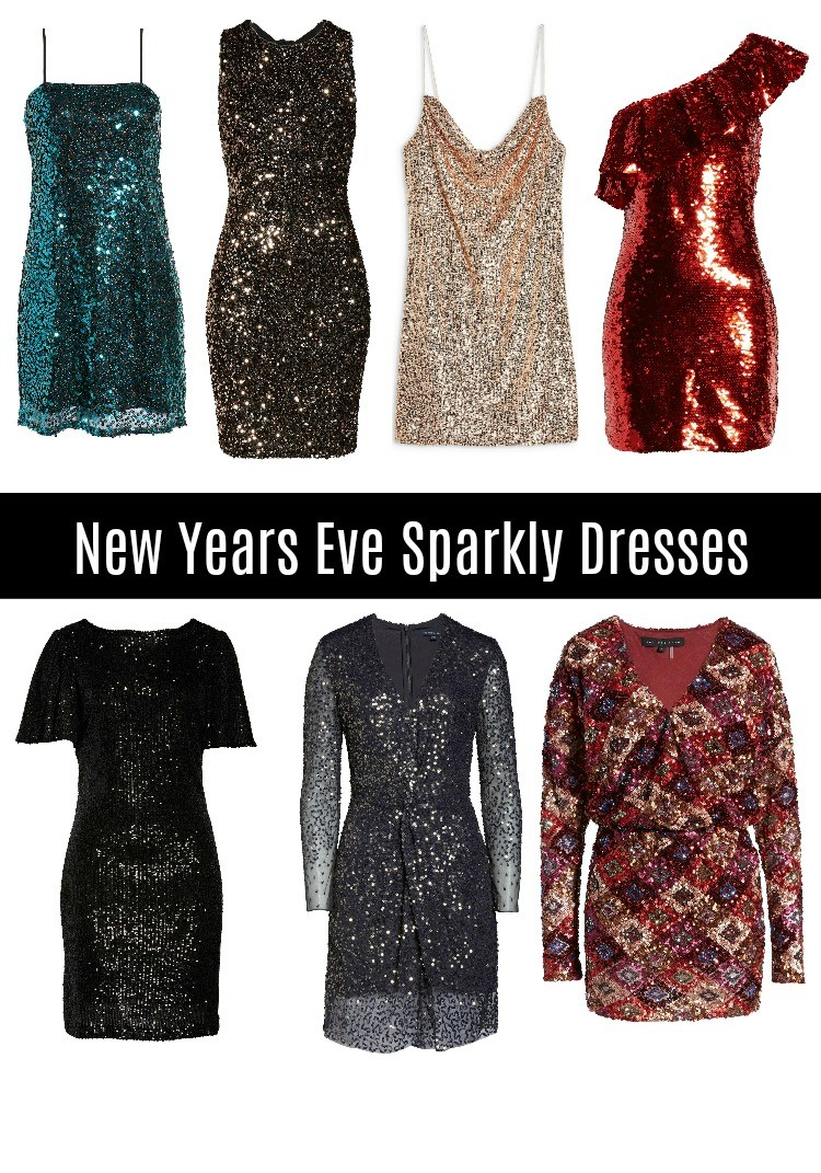 New Years Eve Sparkly Dresses for 2019