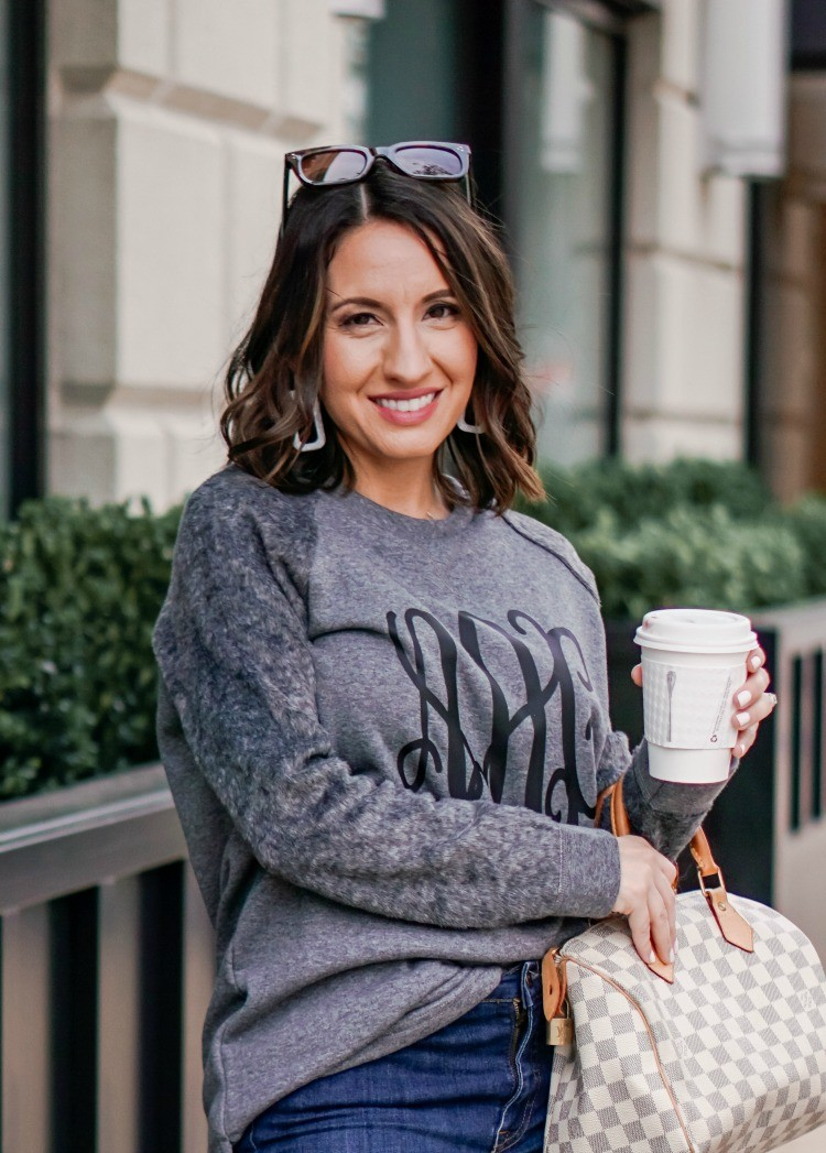 MarelyLilly Monogrammed Sweatshirt