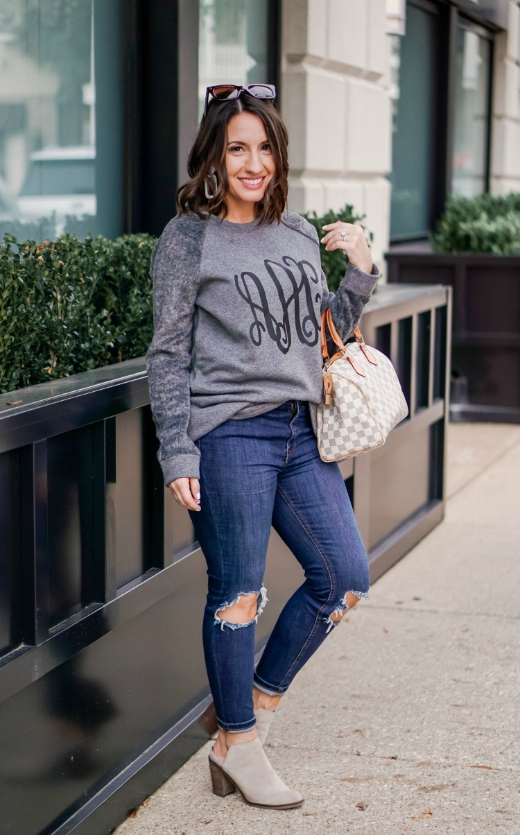 Marley Lilly Sweatshirt_ jeans_ mules