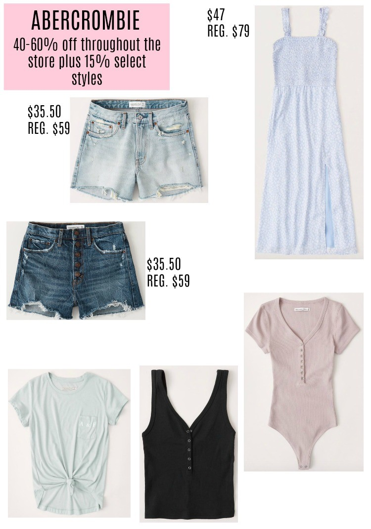 Abercrombie Memorial Day Sale Favorites
