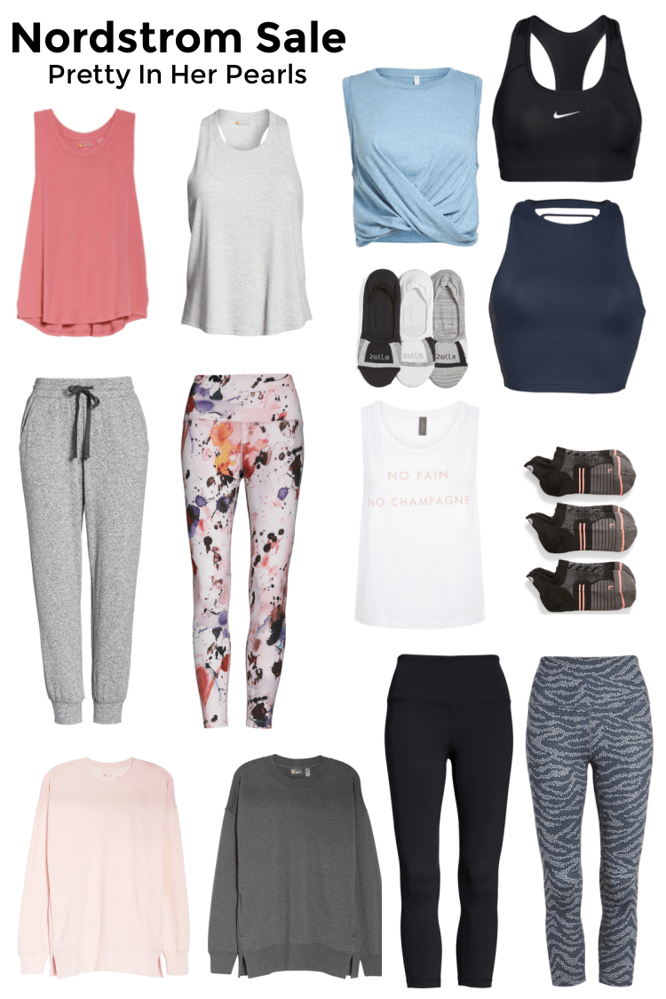 Nordstrom Anniversary Sale Activewear by Pretty In Her Pearls