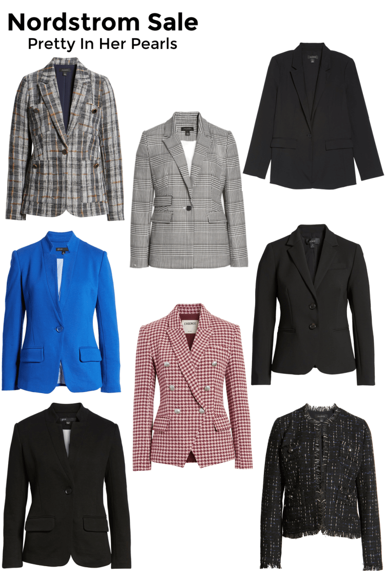 Nordstrom Anniversary Sale Blazers By Pretty In Her Pearls